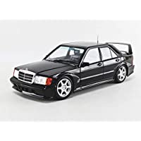 Solido S1801001 1:18 MB 190E Evo 2 421185000-1:18 梅赛德斯奔驰 黑色 模型汽车 模型汽车