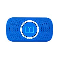 Monster 魔声 Superstar 蓝牙音箱音响 迷你便携式重低音小音箱 软胶外套保护 蓝色(129262)