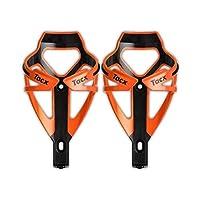 Tacx Deva 水瓶笼 - 橙色/黑色 - 一对(2 只装)