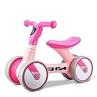 FERSOAR F 烽索 LUDDY系列 儿童平衡车1-3岁三轮滑行学步车溜溜车 LD-1006-B 粉色(亚马逊自营商品, 由供应商配送)