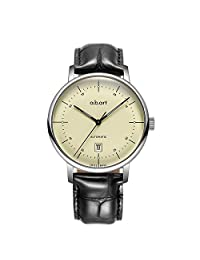 A.B.ART 爱彼雅 瑞士品牌 G系列 自动机械男士手表 G102-D(亚马逊自营商品, 由供应商配送)