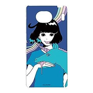 Hare . 手机壳透明硬壳印花独角兽手机壳适用所有机型  ユニコーンD 11_ Qua phone QX KYV42