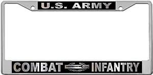 战斗步兵 - 亚马逊车牌架支架