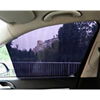 2 件装汽车侧窗遮阳贴纸,63.5 cmx41.91 cm 紫外线保护汽车侧窗膜屏幕挡风玻璃汽车遮阳罩 适用于宝宝