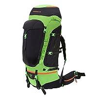 bigpack男女 户外登山包双肩包 徒步 大容量 新款 背包80L (绿色)