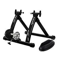 unisky 自行车训练架室内运动磁性自行车训练架快速释放支架适用于山地和公路自行车