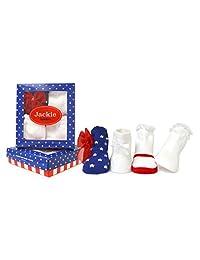 Trumpette 女婴袜套装-4 双