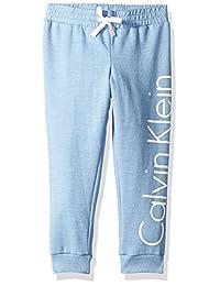 Calvin Klein 女童标志卫裤