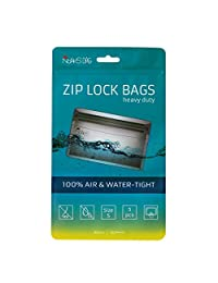 Noaks Bags S 5 件套干袋 - 防护罩 - 拉链包 - 防水深达 10 米,抗臭,食品*,密封