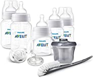 PHILIPS AVENT 防胀气奶瓶新生儿奶瓶套装 透明