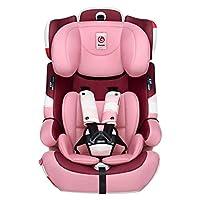 感恩 儿童安全座椅 汽车宝宝儿童安全坐椅 isofix硬接口 9月-12岁 阿瑞斯 公主粉(供应商直送)