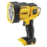 Dewalt DCL043 XR 无绳 LED 聚光灯主体,18 V,黑色/黄色