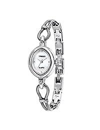 Time100 时光一百 简约闪钻 石英女士手表 时尚个性手链 W401PTAI23L.01A(亚马逊自营商品, 由供应商配送)