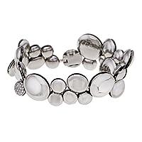 Calvin Klein Jewelry 女士液体手镯系列  Silver3 / Small