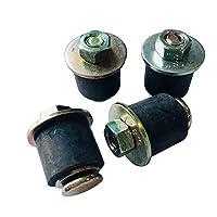 Zok 氯丁橡胶膨胀插头/冷冻插头(7/8 英寸至 1 英寸)22 毫米 - 25 毫米,4 件装