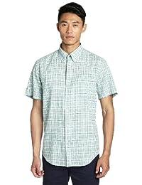 LINCS DC&CO 男式 短袖衬衫 WS121553