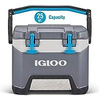 Igloo BMX 25 夸脫冷卻器 - 碳酸灰色/碳酸藍色