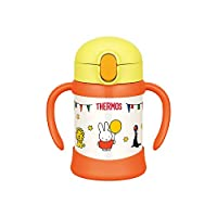 (跨境自营)(包税) THERMOS 膳魔师 婴儿吸管保温保冷杯FHV-250 250毫升 米菲款