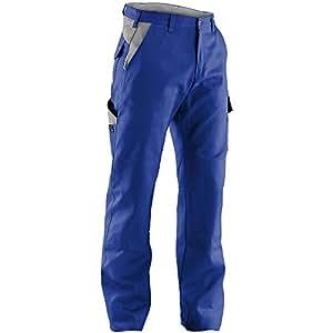 Kubler 20441314-4695-98 尺寸 98 英寸标识长裤 - 矢车菊蓝/灰色