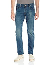 Lee 男式现代系列修身小脚牛仔裤