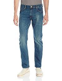 Lee 男士现代系列修身锥形腿牛仔裤