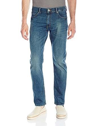 Lee 男式 现代系列修身瘦脚牛仔裤 Brazen 29W x 30L