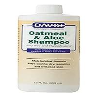 davis oatmeal and aloe dog and cat shampoo, 12-ounce by davis