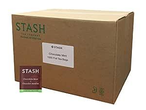 Stash Tea 巧克力薄荷绿茶 1000 Count