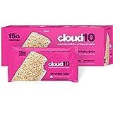 Cloud10 High Protein Gluten-Free Marshmallow Treats, Birthday Cake (Pack of 10)