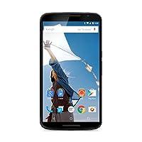 摩托罗拉 Nexus 6 XT1100 32GB 4G LTE 解锁 GSM Android v5.0 智能手机 - 蓝色 - 国际版 无保修