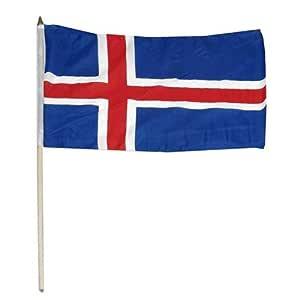 冰岛国旗 30.48 x 45.72 厘米 1包 BYLIS1218