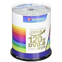 三菱ケミカルメディア Verbatim 1次刻录用 DVD-R(VIDEO) 120分钟 主轴 100张