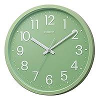 DAILY(节奏时钟) 石英表 平面表盘 グラス・グリーン(05緑) Φ33.1x4.3cm 4KGA06BZ05