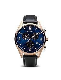 Bering 丹麦品牌 经典系列 石英男士手表 10542-567(亚马逊自营商品, 由供应商配送)
