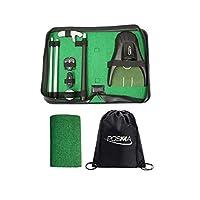 POSMA GSP150D 全合一高尔夫推杆训练行政礼品套装完美的高尔夫训练推杆礼品套装,适用于室内户外高尔夫练习 - 双向推杆