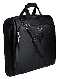 Suit BUTLER 旅行服装袋 | 40 英寸大号旅行套装包 *多 3 件套 | 可携带行李、悬挂旅行服装袋、男士西装包、商务包、西装包、黑色