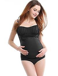 Glow & Grow 孕妇 UPF 50+ 连体泳衣