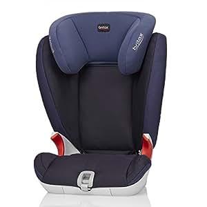 Britax 宝得适 百代适汽车儿童安全座椅KIDFIX SL 凯迪成长 SL 皇室蓝 适合15-36kg 约4-12岁