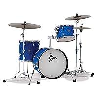 Gretsch 鼓套装,蓝缎火焰 (CT1-J403-BSF)