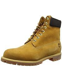 Timberland 添柏岚 男 经典大黄靴 10061 黄色 10061 41 (US 7.5)(亚马逊进口直采,美国品牌)
