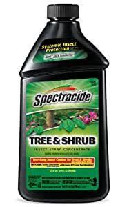 Spectracide Tree and Shrub 昆虫喷雾 1包 95951