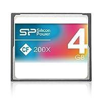 Silicon Power 4GB 紧凑型闪存 200X 4GB CompactFlash 存储卡 - 存储卡 (CompactFlash、灰色、RoHS、3.3/5、0-70 °C、-40-85 °C)