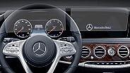 PcProfessional 屏幕保护膜(2 件套)适用于 2019 2020 梅赛德斯奔驰 E S GLE GLS E350 E450 S450 GLS450 GLE 350 12.3 英寸信息触摸屏显示防眩光防刮过滤器 UV