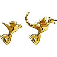 Alessi黄铜金属限量版壶哨9999 (2件套), 金色