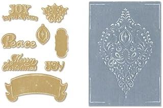 Sizzix Framelits 冲压套装 8 件装,带纹理印象 - Rachael Bright 装饰套装