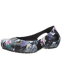 crocs kadee 图案 W 芭蕾平底鞋