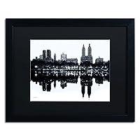 Trademark Fine Art Central Park West II 镶框艺术作者 David Ayash 16 by 20-Inch MA0511-B1620BMF