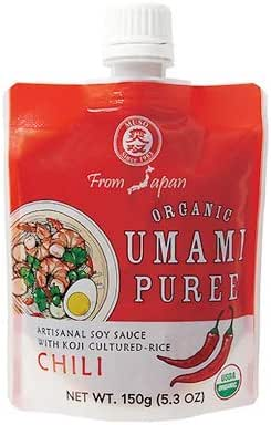Muso From Japan Organic Umami Puree with Togarashi Pepper, 5.2 Ounce