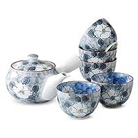 有田烧 CtoC JAPAN 茶壶茶具套装(一个茶壶五个茶杯) 02-631477