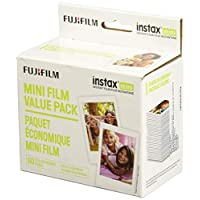 Fujifilm Instax 迷你即时胶片超值装 - (3 双装,每张 60 张图片)(包装可能有所不同)